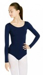 capezio tb135 team basics adult long sleeve leotard