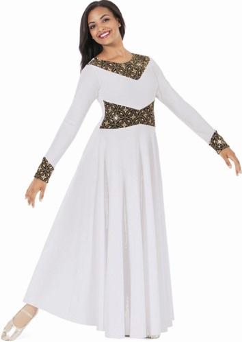 0038bca9c3a4 eurotard 43866 royalty praise dance dress - clearance,liturical dress,worship  dresses for dance,praise dress,mime dress,liturgical dance dresses