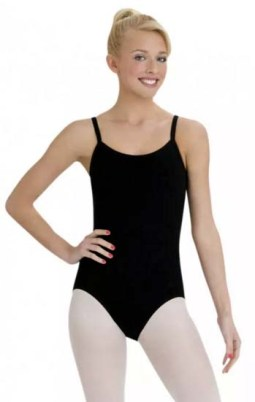 capezio c110 camisole leotard with bratek