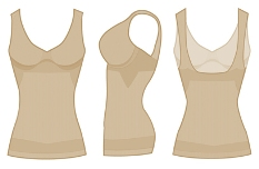 julie france leger jfL20 ultralight tank top shaper