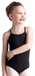 capezio mc810c meryl collection child strappy v back camisole leotard
