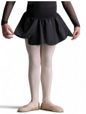 capezio 10625c child petal skirt