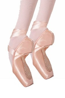 capezio 1127w cambre tapered toe # 3 shank pointe shoe