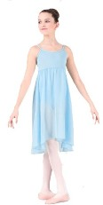 body wrappers 3799 child recital magic camisole dance dress