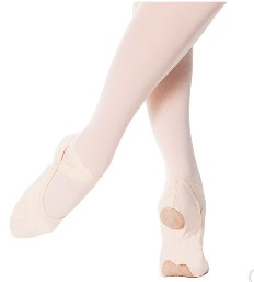 eurotard a1004a adult assemble split sole canvas ballet slipper