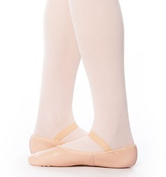 eurotard a2001c child tendu full sole leather ballet slipper