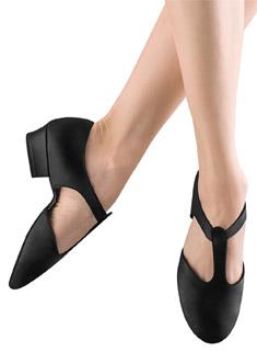 Adult TAN /& PINK Bloch ES0410 Elastosplit Grecian Lyrical Modern Dance Shoe