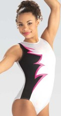 gk elite e3761 Berry Spark gymnastics leotard