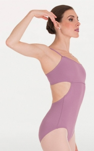 body wrappers p1170 loop back camisole leotard