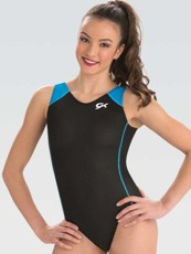 gk elite 3744 gymtek cool air gymnastics leotard
