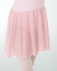body wrappers bw198 child chiffon pull on dance skirt