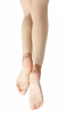 capezio n140c child hold and stretch footless tights