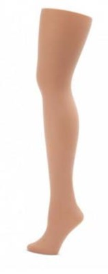capezio 1862 hold and stretch plus size footed tights