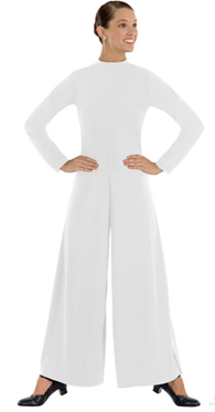 eurotard 13846 high neck liturgical dance jumpsuit