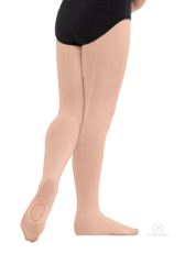 eurotard 218 euroskins child convertible back seam tights